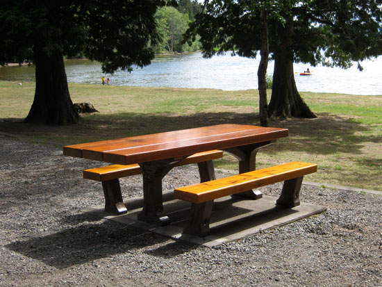 Astonishing Picnic Table For Bc Parks Sites Szolyd Concrete Inc Home Interior And Landscaping Fragforummapetitesourisinfo