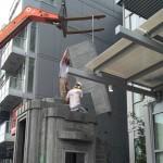 crane lifting ductal