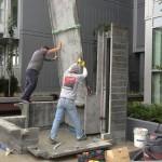 moving precast concrete