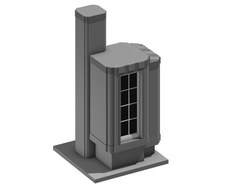 rendering ductal building