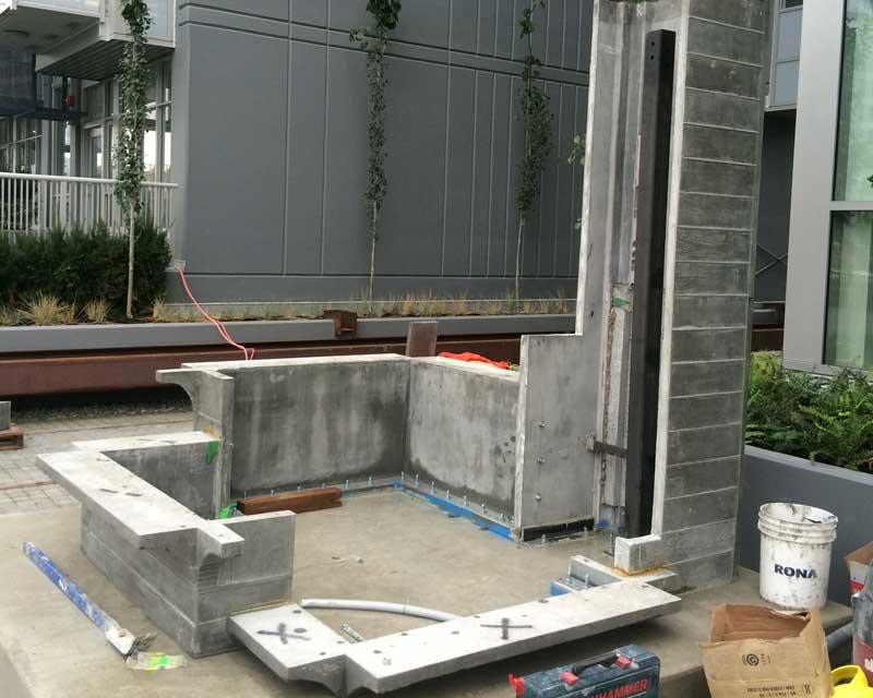 substation pavilion art install