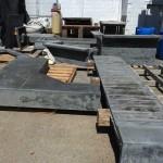 uhpc parts in szolyd yard