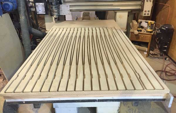 cnc cut mdf ready to be assembled