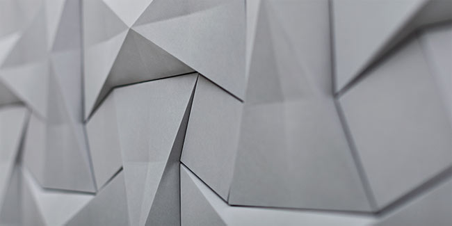 angular white concrete