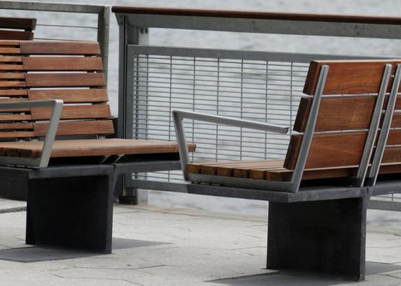 site furnishings for flood areas