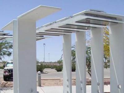 bus shelter concrete