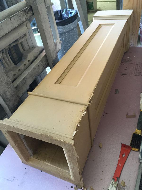 tan coloured ductal concrete