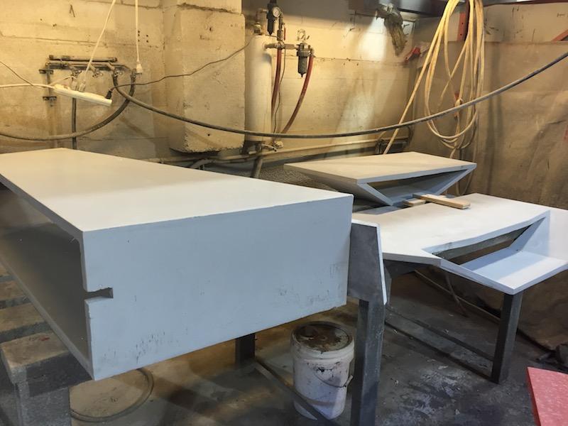 ductal concrete components